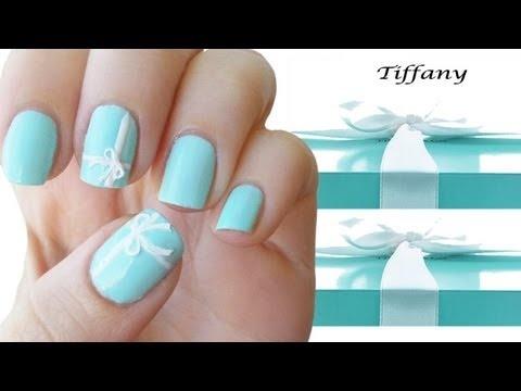 Tiffany Nail Art tutorial. - Best 25+ Tiffany Nails Ideas On Pinterest Tiffany Blue Nails