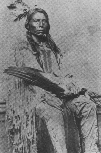 Crazy Horse (Sioux) was born on the Republican River about 1845. He was killed at Fort Robinson, Nebraska, in 1877, so that he lived barely thirty-three years. www.crazyhorserif...