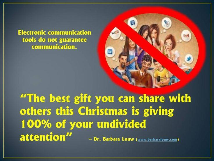 Communication and Christmas