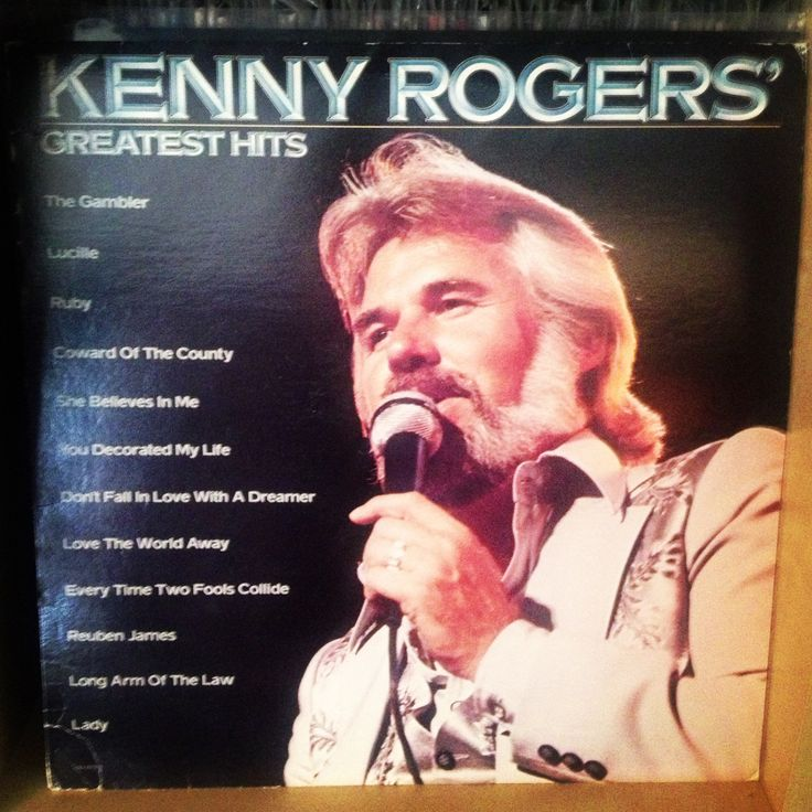 122 best Kenny Rogers Posters/ Album & CD Covers images on ...