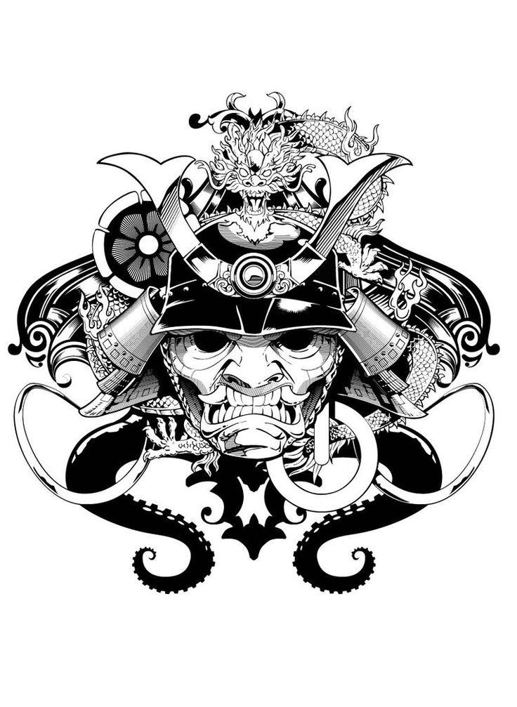 Mascara Samurai by Aluisiosouza