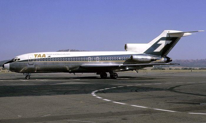 Trans Australia Airlines Boeing 727-76 (VH-TJA)