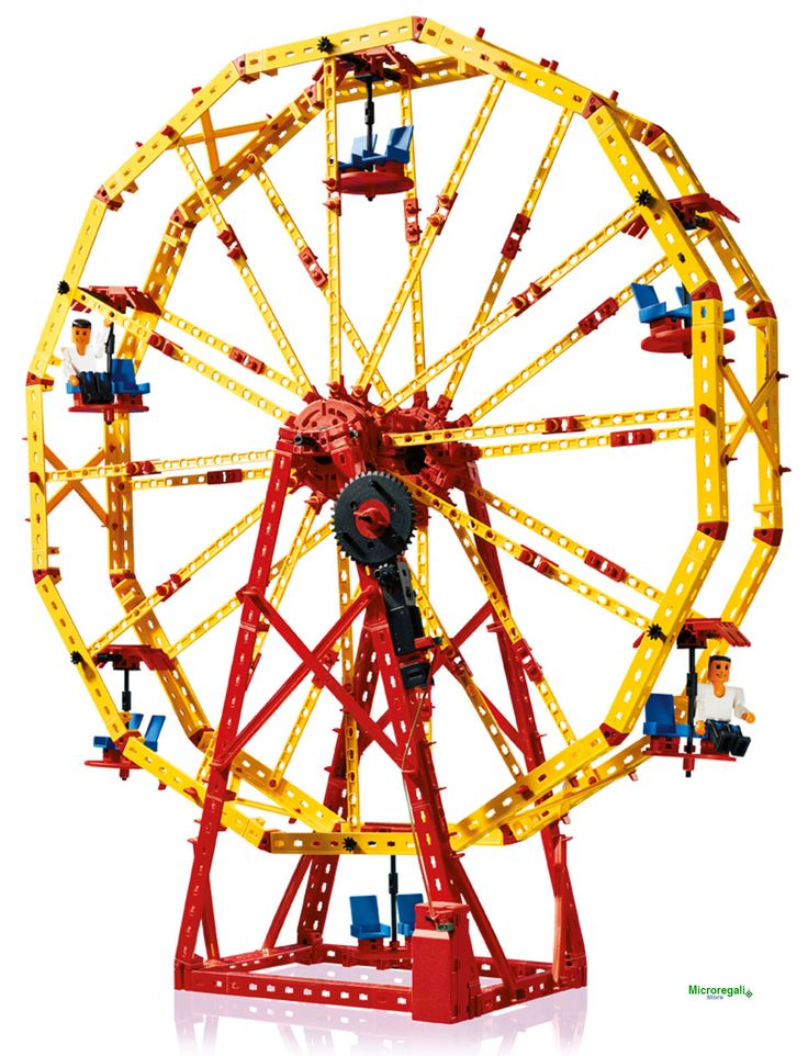 fischertechnik 505279 Parco Divertimenti costruzioni 3 modelli