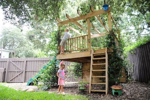 Tree House concept-Living With Kids: Leslie Burket