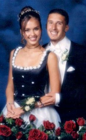 Celebrity Prom Photos You Won't Believe Are Real: Jessica Alba