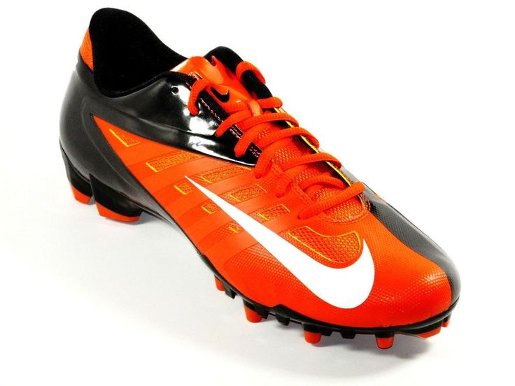 New Mens Nike Vapor Pro TD Low Molded Football/Lacrosse Cleats Size 12  Orange