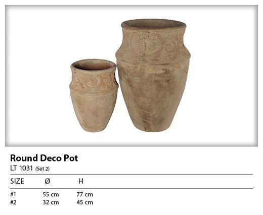 Graceville Imports - Trade Pots - Antique Terracotta