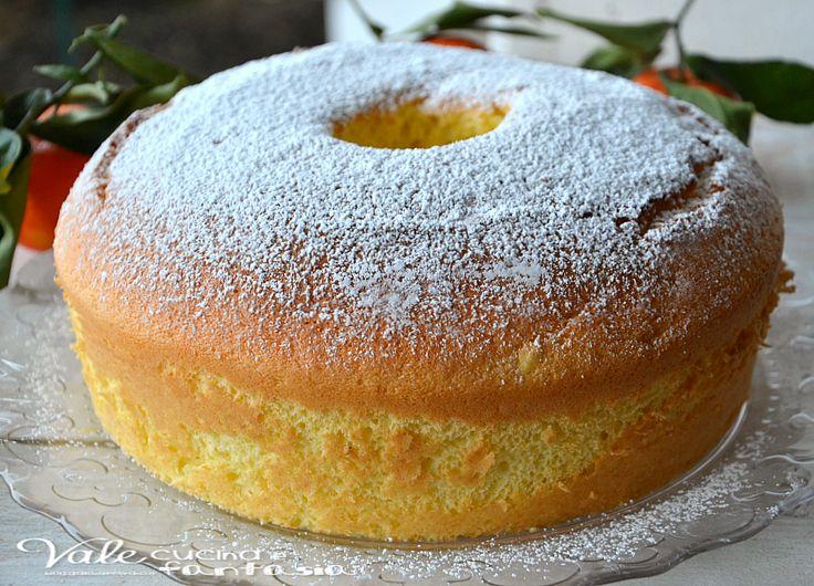 IO LA PROVEREI NEL VERSILIA Chiffon cake al mandarino ricetta senza burro e olio un dolce sofficissimo e molto profumato, senza grassi leggero e goloso ideale per colazione e merenda