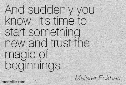 time to start a new chapter in my life quotes - Yahoo Image Search Results