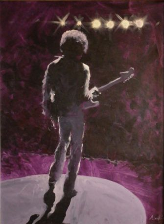 Simon Collins Jimmy Hendrix Fine Art