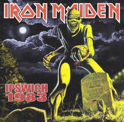 Iron Maiden Album Covers   Iron Maiden: Ipswich 1983. The Gaumont, Ipswich, England 1983. (Double ...