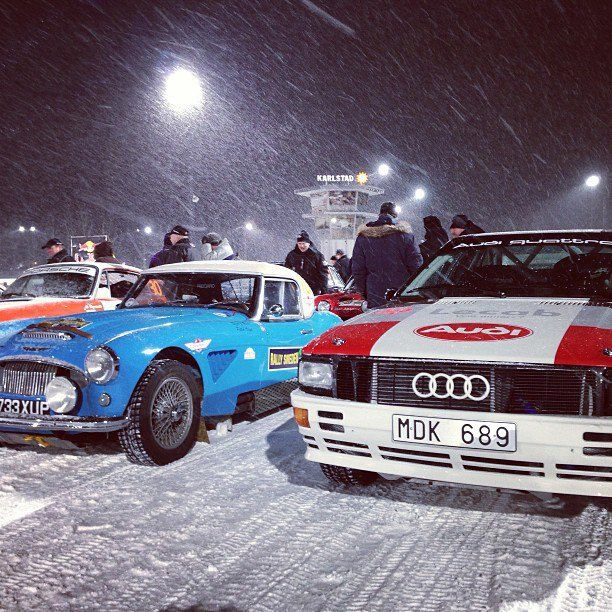 RA RALLY LEGENDS ... UNDER THE SNOW