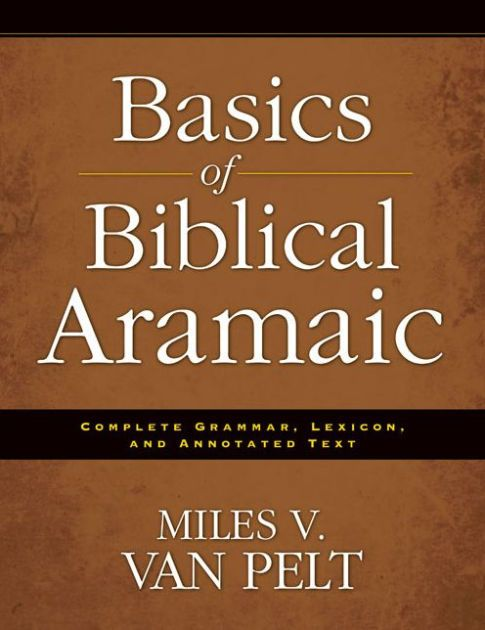 There are 269 verses in the Old Testament written in Aramaic, not in Hebrew. Most of the verses are found in Daniel and Ezra. Basics of Biblical Aramaic follows...