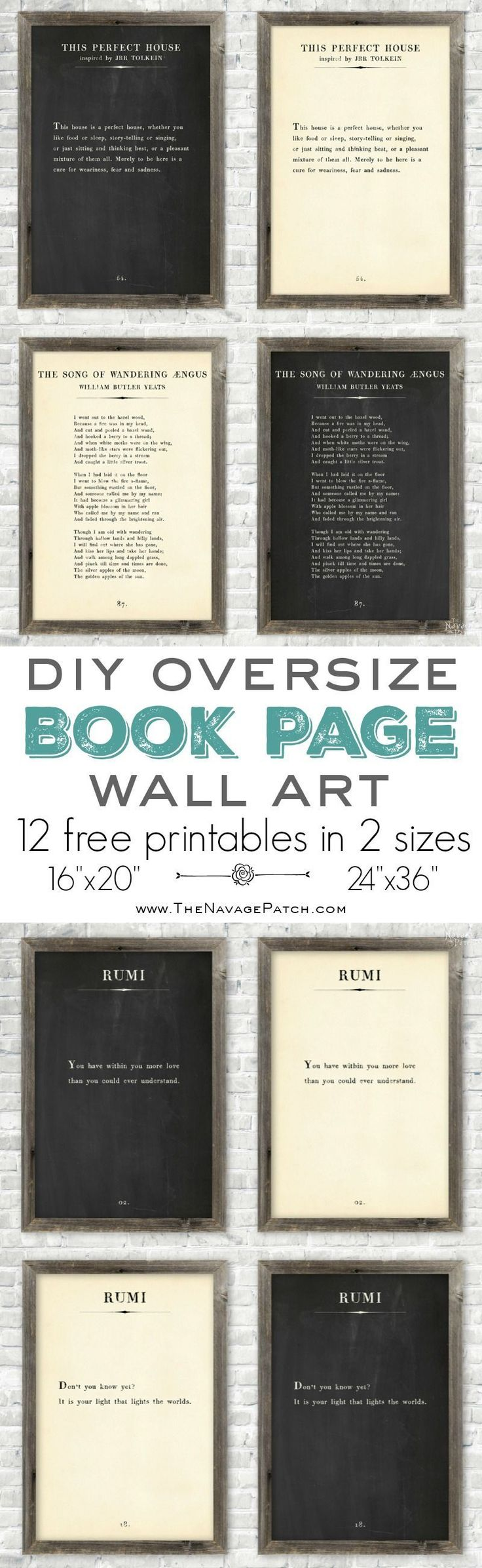 make your own poster free printable