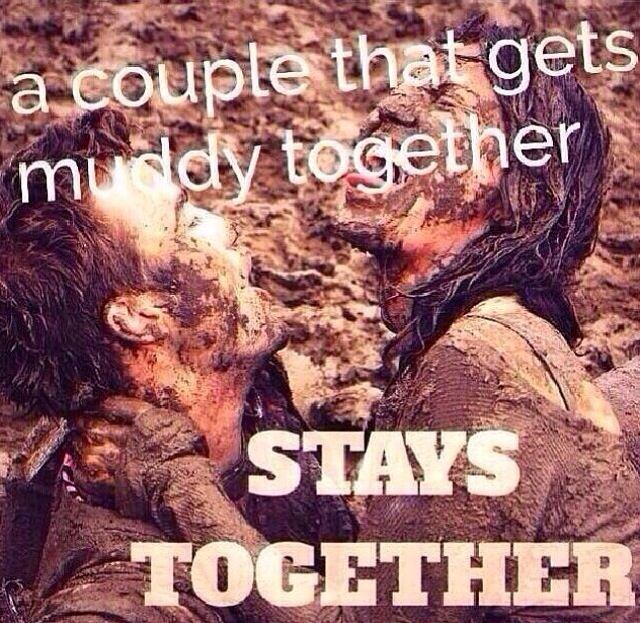 Mudding Couple! #mud #mudding #countrylove visit: https://www.facebook.com/truckyeahletsgomuddin