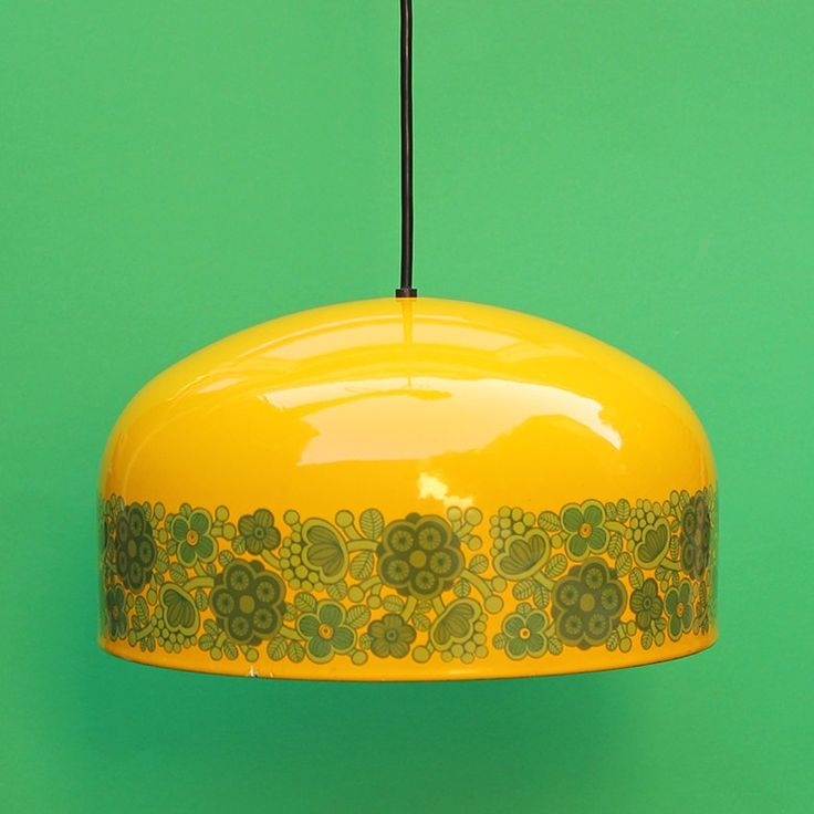 designlamp Finel Arabia Finland, dec Primavera, design Raija Uosikkinen