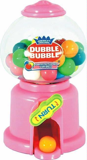 Dubble Bubble Small Gumball Dispenser | 1ct