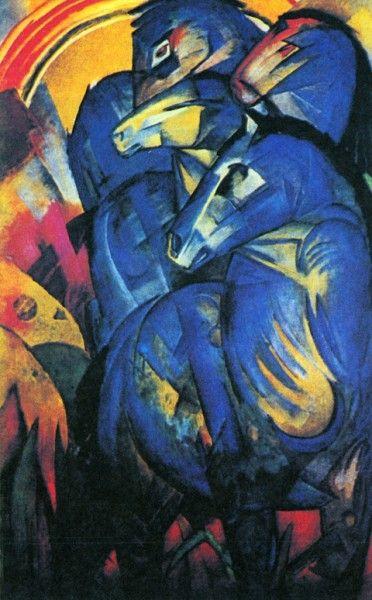Франц Марк, Башня синих лошадей, 1913