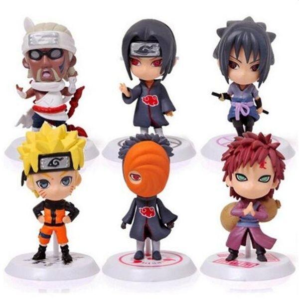 Anime Naruto Naruto Uzumaki Kakashi Action Figure Collection Model Kids Toy 1pcs