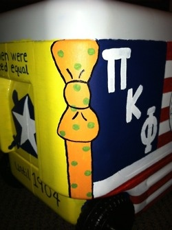 painted cooler | Tumblr