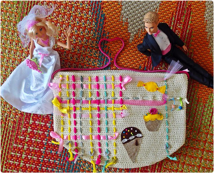 Customized handmade bag for your baby's toys etc. Toy Bag for Nefeli