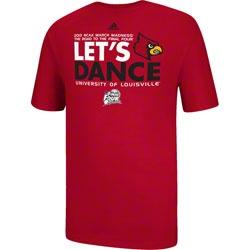 Louisville Cardinals adidas 2013 March Madness Tournament Let's Dance T-Shirt $21.99 http://www.fansedge.com/Louisville-Cardinals-adidas-2013-March-Madness-Tournament-Lets-Dance-T-Shirt-_-1491902918_PD.html?social=pinterest_pfid42-69103