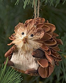 Sweet hedgehog ornament