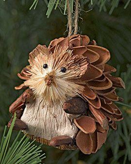 Sweet hedgehog ornament