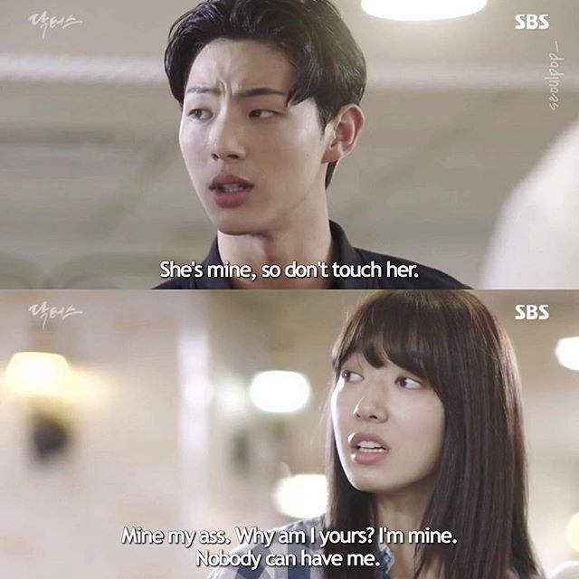 "' Doctors ☆ 「 Episode 2 」 ""Why am I yours? I'm mine. Nobody can have me."" -Hye Jung. ㅡ { #doctors #kdrama } !  I love Park Shin Hye, shes such an amazing actor!"