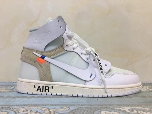 Nike Air Jordan 1 'NRG' x OFF WHITE | Maten 36 tm 46 in