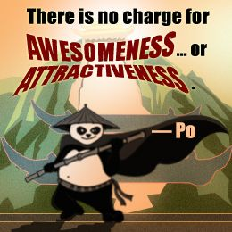 Quote by Po from the Kung Fu Panda movie series