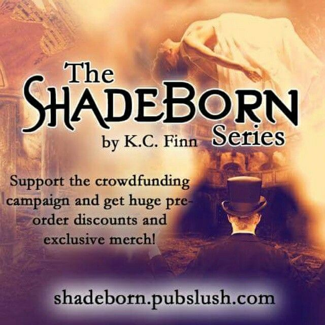 The Shadeborn Crowdfunding Project is LIVE right now!  Visit https://pubslush.com/project/4492 to share, tweet about it and pledge!