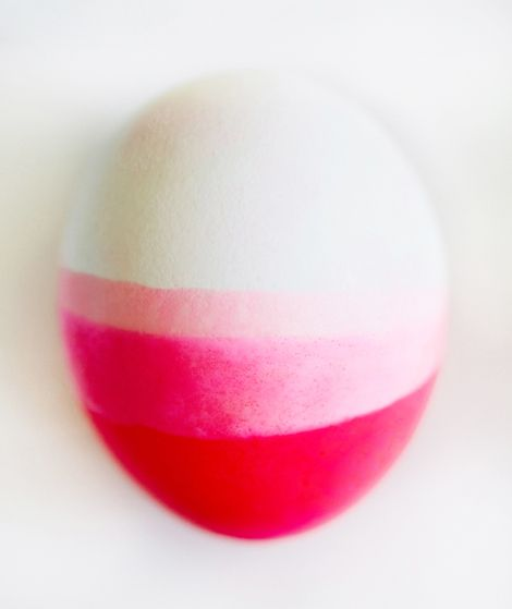 Neon dip-dyed eggs...
