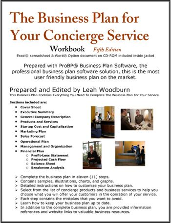 Business plan professional services