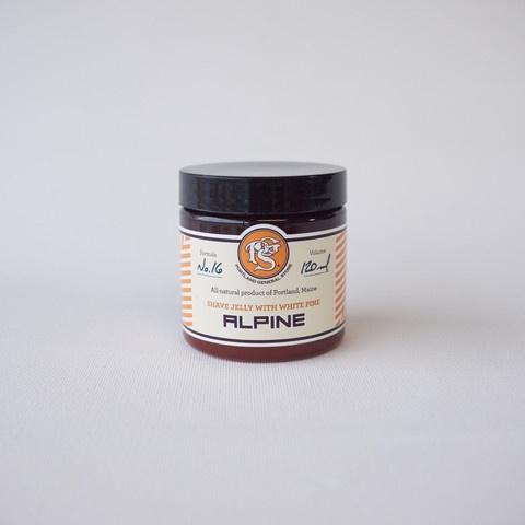 "Gel de rasage ""Alpine"" avec sève de pin de Portland General Store"