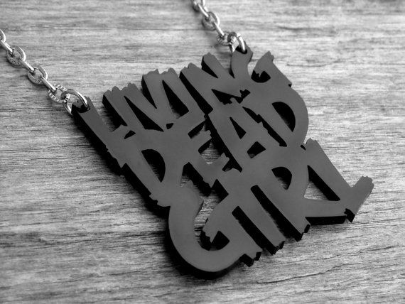 Living Dead Girl Rob Zombie Necklace by Ink & Roses 13