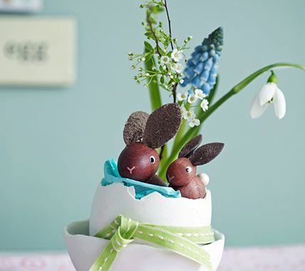 72 best frohe ostern easter in germany images on - Dekoration ostern ...