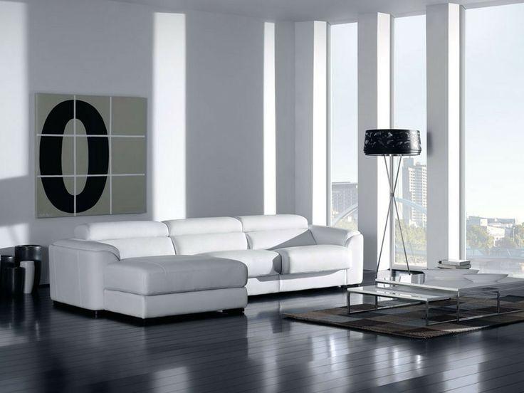 Lazzoni Furniture Berna Sectional Modern Sofas