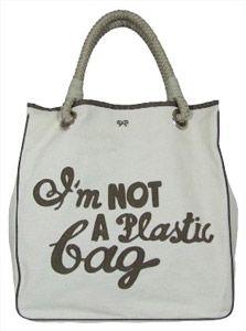 Аня Хиндмарч (Anya Hindmarch) - Я не пластиковый пакет