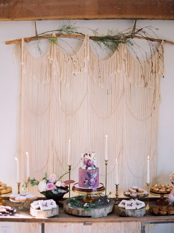 We're kinda in awe of this bohemian baby shower designed + shot by (and for!) Stephanie of This Modern Romance. It has us mentally planning, oh, about ten different events with along this romantic the