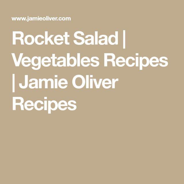 Rocket Salad | Vegetables Recipes | Jamie Oliver Recipes