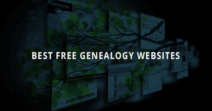 Even though many online resources have a subscription fee, there are still some fantastic free genealogy sites to help you research your family!