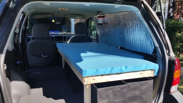 DIY Ford Escape Camper Conversion