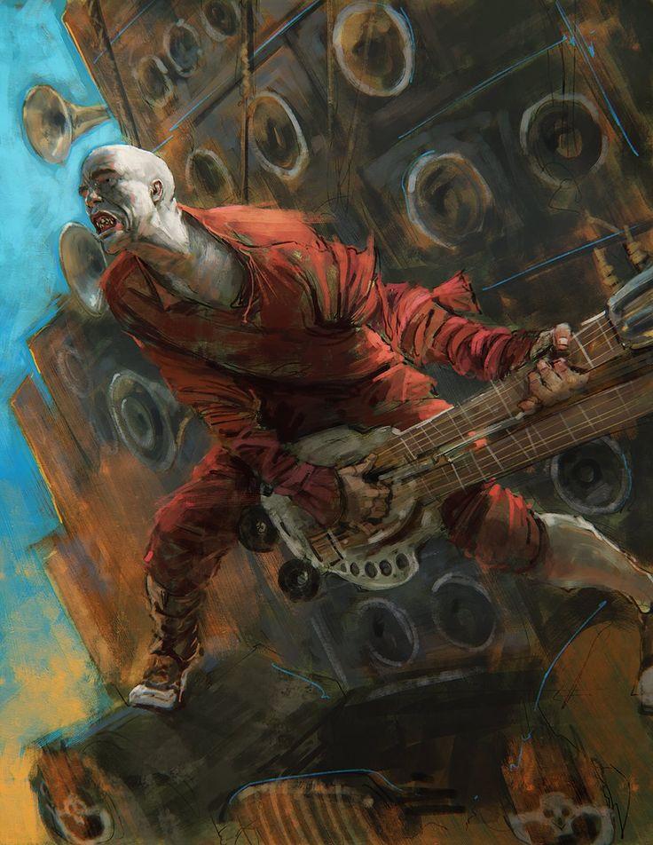 Mad Max: Fury Road - Flamethrower Guitarist by Daniel Landerman *