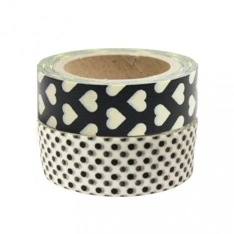duo masking tape N&B