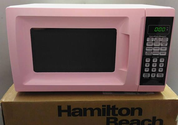 Pink Microwave  Hamilton Beach Pink Microwave Coordinate