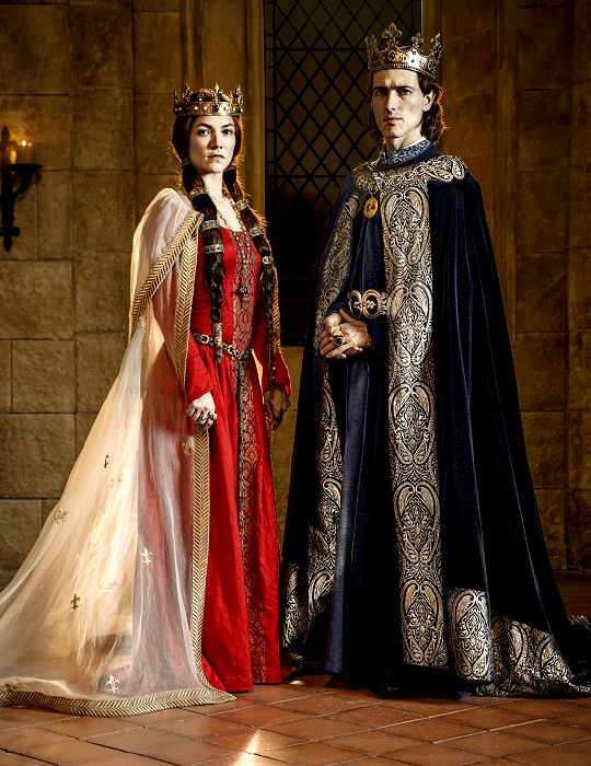 Mens Ladies Tudor King Queen Costume Medieval Historical ...  Renaissance King And Queen