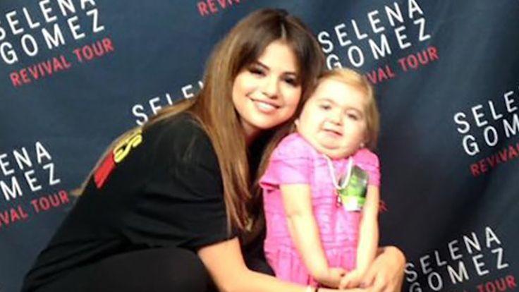 SO CUTE! Selena Gomez Dances With 7-Year-Old Fan Audrey Nethery!