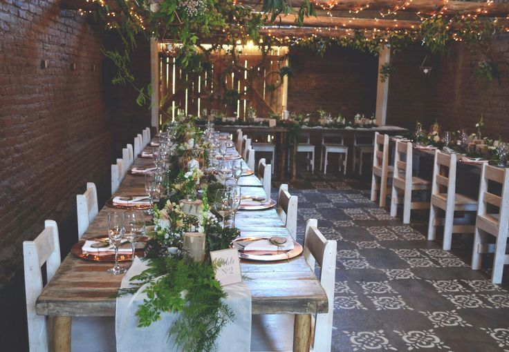 Forrest and copper theme decor
