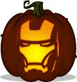 Pumpkin Carving Patterns and Stencils - Zombie Pumpkins! - Iron Man pumpkin pattern - The Avengers (2012)